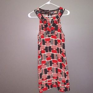 Dresses & Skirts - Rayon dress with gorgeous neckline accents